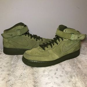 🆕Nike Air Force 1 Mid in Legion Green men's 11